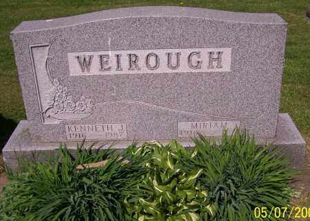 WEIROUGH, KENNETH J. - Stark County, Ohio   KENNETH J. WEIROUGH - Ohio Gravestone Photos
