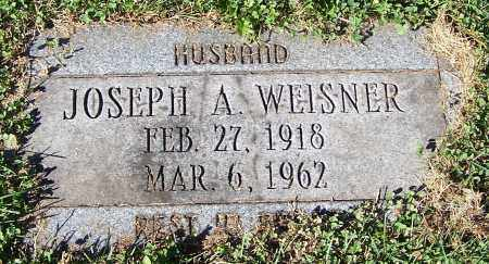 WEISNER, JOSEPH A. - Stark County, Ohio | JOSEPH A. WEISNER - Ohio Gravestone Photos