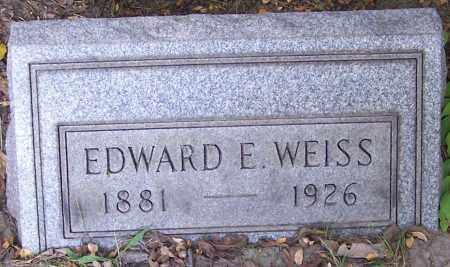 WEISS, EDWARD E. - Stark County, Ohio | EDWARD E. WEISS - Ohio Gravestone Photos