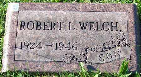 WELCH, ROBERT L. - Stark County, Ohio   ROBERT L. WELCH - Ohio Gravestone Photos