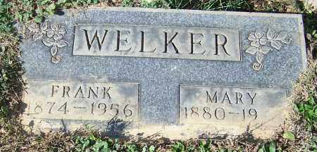 WELKER, MARY - Stark County, Ohio | MARY WELKER - Ohio Gravestone Photos