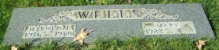 WELLS, HAROLD E. - Stark County, Ohio | HAROLD E. WELLS - Ohio Gravestone Photos