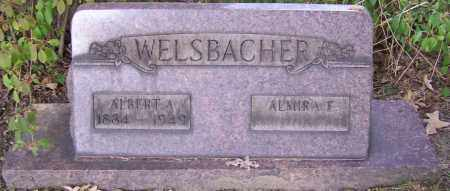 WELSBACHER, ALBERT A. - Stark County, Ohio | ALBERT A. WELSBACHER - Ohio Gravestone Photos
