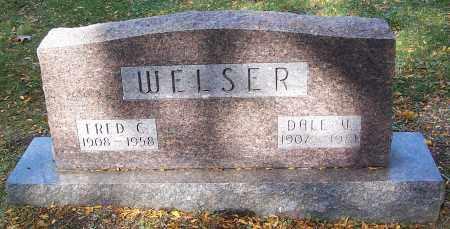 WELSER, FRED C. - Stark County, Ohio | FRED C. WELSER - Ohio Gravestone Photos