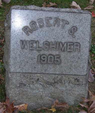 WELSHIMER, ROBERT S. - Stark County, Ohio | ROBERT S. WELSHIMER - Ohio Gravestone Photos