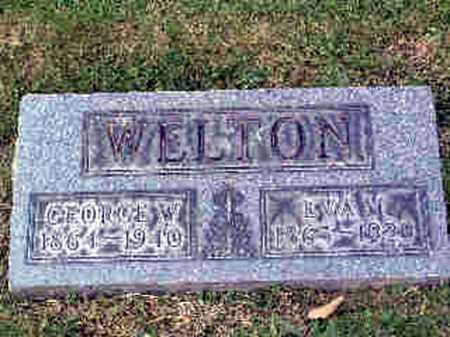 MAUS WELTON, EVALINA - Stark County, Ohio | EVALINA MAUS WELTON - Ohio Gravestone Photos