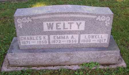 WELTY, CHARLES K. - Stark County, Ohio | CHARLES K. WELTY - Ohio Gravestone Photos