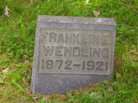 WENDLING, FRANKLIN E. - Stark County, Ohio | FRANKLIN E. WENDLING - Ohio Gravestone Photos
