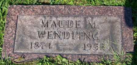 WENDLING, MAUDE M. - Stark County, Ohio | MAUDE M. WENDLING - Ohio Gravestone Photos