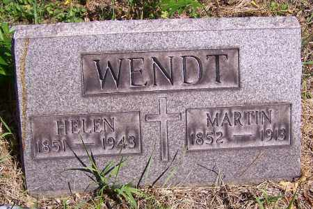 WENDT, MARTIN - Stark County, Ohio | MARTIN WENDT - Ohio Gravestone Photos