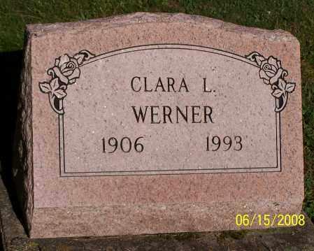 WERNER, CLARA L. - Stark County, Ohio | CLARA L. WERNER - Ohio Gravestone Photos