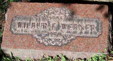 WERNER, WILBUR F. - Stark County, Ohio | WILBUR F. WERNER - Ohio Gravestone Photos