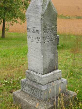 BROWN WERTENBERGER, SUSANAH - Stark County, Ohio | SUSANAH BROWN WERTENBERGER - Ohio Gravestone Photos