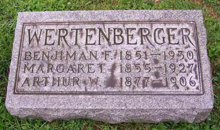 WERTENBERGER, BENJIMAN F. - Stark County, Ohio | BENJIMAN F. WERTENBERGER - Ohio Gravestone Photos