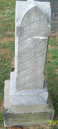 WERTZ, JACOB - Stark County, Ohio | JACOB WERTZ - Ohio Gravestone Photos