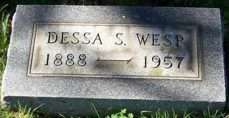 WESP, DESSA S. - Stark County, Ohio | DESSA S. WESP - Ohio Gravestone Photos