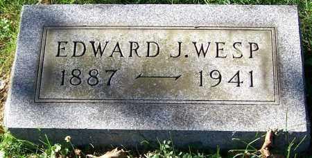 WESP, EDWARD J. - Stark County, Ohio   EDWARD J. WESP - Ohio Gravestone Photos