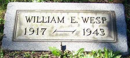 WESP, WILLIAM E. - Stark County, Ohio   WILLIAM E. WESP - Ohio Gravestone Photos