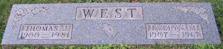 WEST, THOMAS J. - Stark County, Ohio | THOMAS J. WEST - Ohio Gravestone Photos