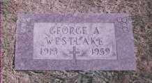WESTLAKE, GEORGE ALMON - Stark County, Ohio   GEORGE ALMON WESTLAKE - Ohio Gravestone Photos