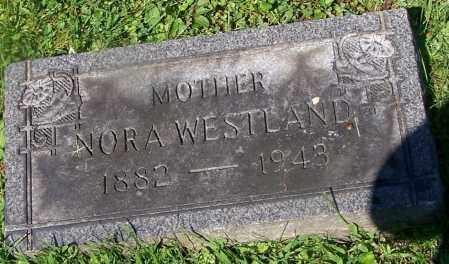 WESTLAND, NORA - Stark County, Ohio   NORA WESTLAND - Ohio Gravestone Photos