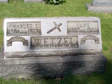 WETZEL, JANE - Stark County, Ohio | JANE WETZEL - Ohio Gravestone Photos