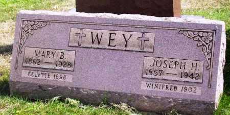 WEY, MARY B. - Stark County, Ohio | MARY B. WEY - Ohio Gravestone Photos
