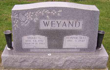 WEYAND, BONNIE SELL - Stark County, Ohio | BONNIE SELL WEYAND - Ohio Gravestone Photos
