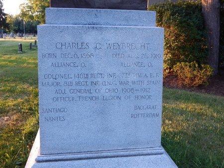 WEYBRECHT, CHARLES C. - Stark County, Ohio | CHARLES C. WEYBRECHT - Ohio Gravestone Photos