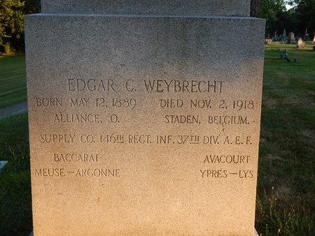 WEYBRECHT, EDGAR C. - Stark County, Ohio | EDGAR C. WEYBRECHT - Ohio Gravestone Photos
