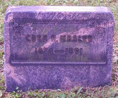 WHALER, CORA A. - Stark County, Ohio | CORA A. WHALER - Ohio Gravestone Photos
