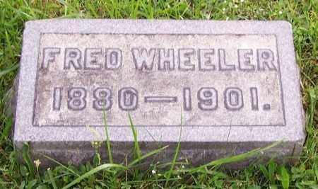 WHEELER, FRED - Stark County, Ohio   FRED WHEELER - Ohio Gravestone Photos