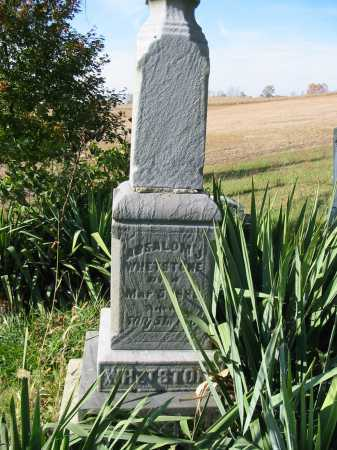 WHETSTONE, ABSALOM J - Stark County, Ohio | ABSALOM J WHETSTONE - Ohio Gravestone Photos