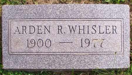 WHISLER, ARDEN R. - Stark County, Ohio | ARDEN R. WHISLER - Ohio Gravestone Photos