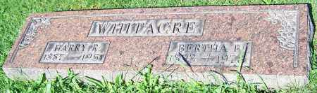 WHITACRE, BERTHA B. - Stark County, Ohio | BERTHA B. WHITACRE - Ohio Gravestone Photos