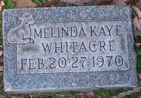 WHITACRE, MELINDA KAYE - Stark County, Ohio | MELINDA KAYE WHITACRE - Ohio Gravestone Photos