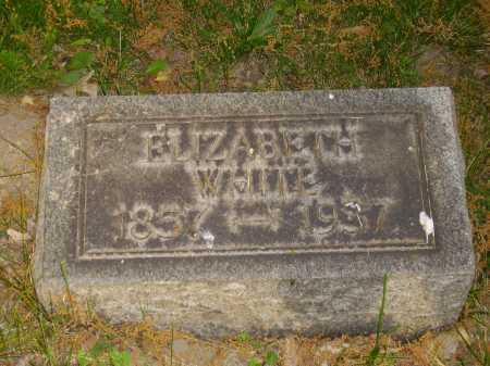 WHITE, ELIZABETH - Stark County, Ohio | ELIZABETH WHITE - Ohio Gravestone Photos