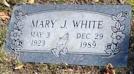 WHITE, MARY J. - Stark County, Ohio   MARY J. WHITE - Ohio Gravestone Photos