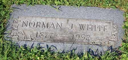 WHITE, NORMAN J. - Stark County, Ohio | NORMAN J. WHITE - Ohio Gravestone Photos