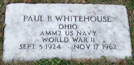 WHITEHOUSE, PAUL B. - Stark County, Ohio | PAUL B. WHITEHOUSE - Ohio Gravestone Photos