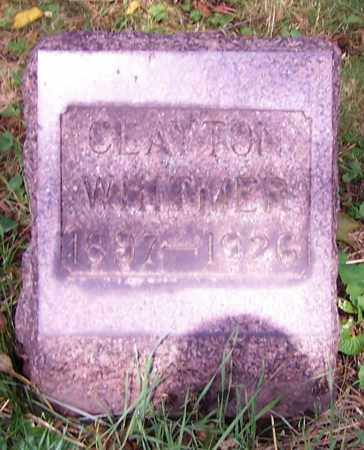 WHITMER, CLAYTON - Stark County, Ohio | CLAYTON WHITMER - Ohio Gravestone Photos