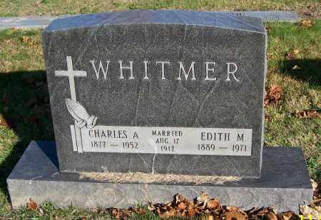 WHITMER, CHARLES A. - Stark County, Ohio | CHARLES A. WHITMER - Ohio Gravestone Photos