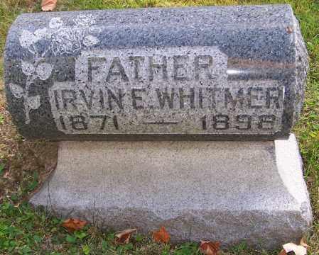 WHITMER, IRVINE E. - Stark County, Ohio   IRVINE E. WHITMER - Ohio Gravestone Photos
