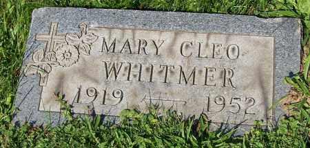 WHITMER, MARY CLEO - Stark County, Ohio   MARY CLEO WHITMER - Ohio Gravestone Photos