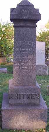 WHITNEY, J.E. - Stark County, Ohio | J.E. WHITNEY - Ohio Gravestone Photos