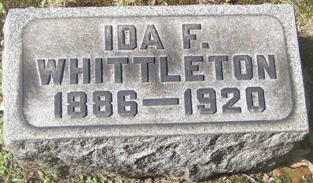 WHITTLETON, IDA F. - Stark County, Ohio | IDA F. WHITTLETON - Ohio Gravestone Photos
