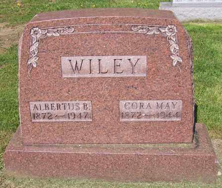 WILEY, ALBERTUS B. - Stark County, Ohio | ALBERTUS B. WILEY - Ohio Gravestone Photos
