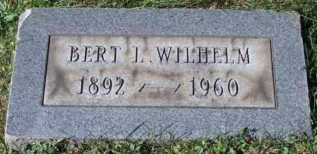 WILHELM, BERT L. - Stark County, Ohio | BERT L. WILHELM - Ohio Gravestone Photos