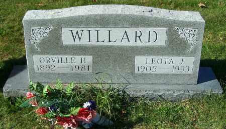 WILLARD, ORVILLE H. - Stark County, Ohio | ORVILLE H. WILLARD - Ohio Gravestone Photos