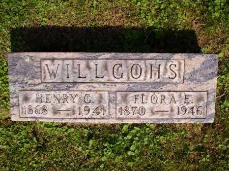 DANSIZEN WILLGOHS, FLORA E. - Stark County, Ohio | FLORA E. DANSIZEN WILLGOHS - Ohio Gravestone Photos